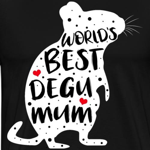 Degu MUM | Geschenk für Deguhalterinnen - Männer Premium T-Shirt