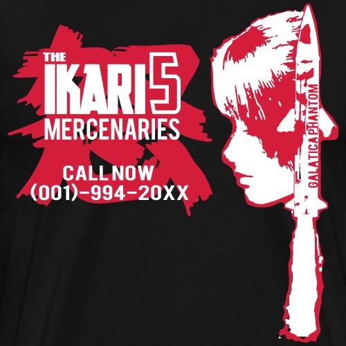 The Ikari5 Red - T-shirt Premium Homme