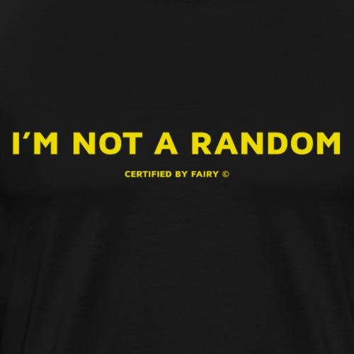 RANDOM GIRL - T-shirt Premium Homme