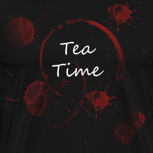 Tea Time - Männer Premium T-Shirt