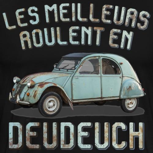 2CV rouille - T-shirt Premium Homme