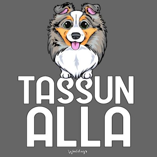 Sheltti Tassun Alla 3 - Miesten premium t-paita