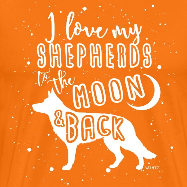German Shepherd GSD Moon