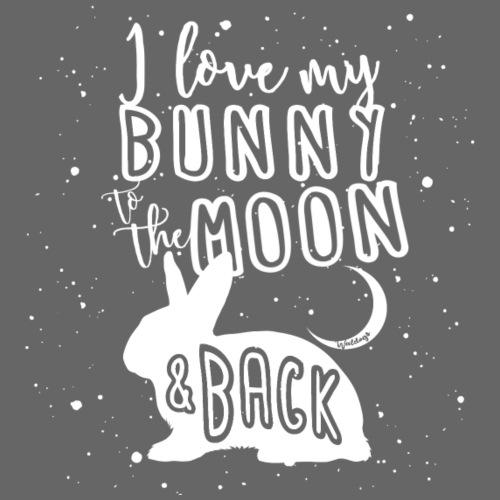 Bunny Rabbit Moon - Miesten premium t-paita