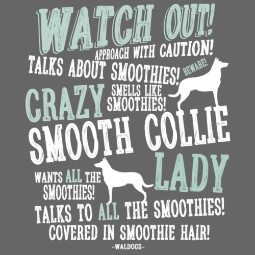 Watch Out! Smoothie W - Miesten premium t-paita