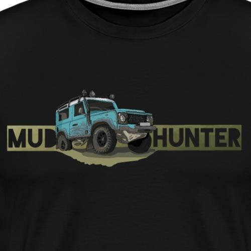 Mud Hunter - UK Offroad Ikone - Geländewagen - Männer Premium T-Shirt