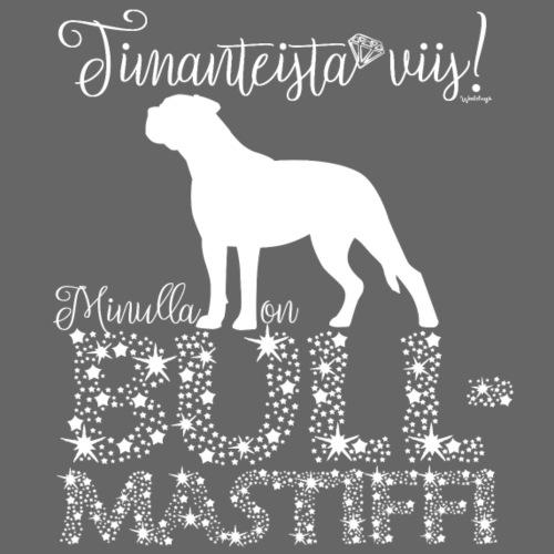 Bullmastiffi Dimangi - Miesten premium t-paita