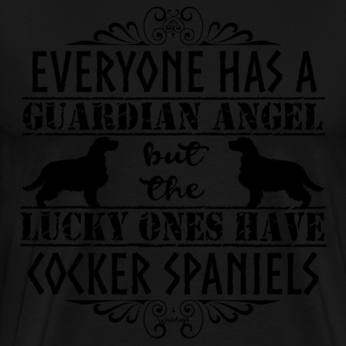 cockerangel4 - Men's Premium T-Shirt