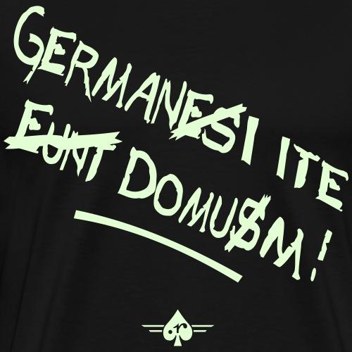 GermanesEuntDomus_3col - Männer Premium T-Shirt