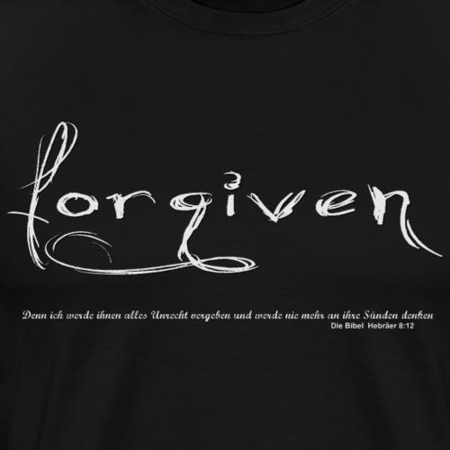 Dir ist vergeben Handschrift - Männer Premium T-Shirt