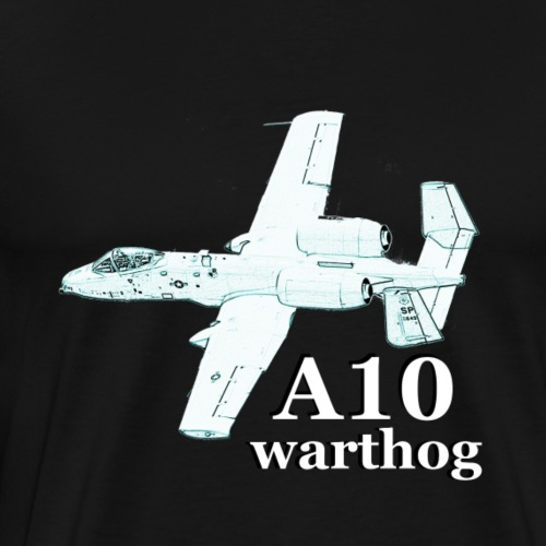 A 10 Warthog - Men's Premium T-Shirt