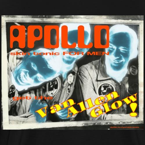 Apollo skin tonic for men. Get the Van Allen Glow - Men's Premium T-Shirt