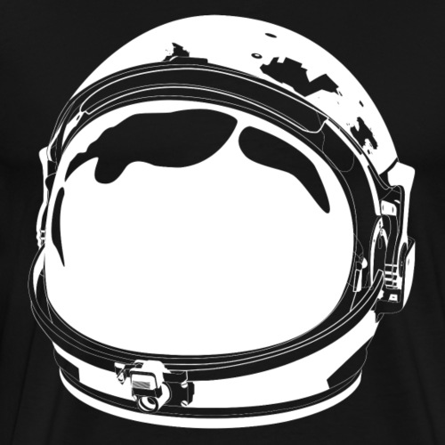 The White Cosmonaut - Men's Premium T-Shirt