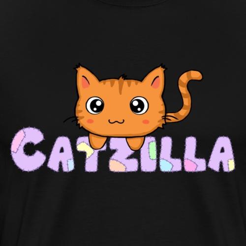 Catzilla chat 4 - Men's Premium T-Shirt