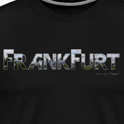 Frankfurt am Main meine Stadt von Lieblingsregion - Männer Premium T-Shirt