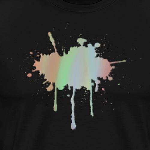 PastellSplash - Männer Premium T-Shirt