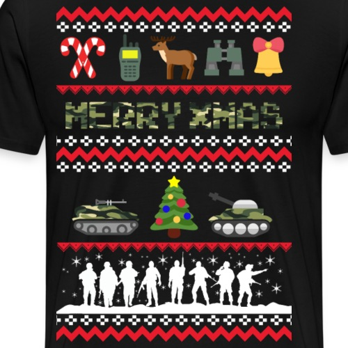 Army Xmas - Männer Premium T-Shirt