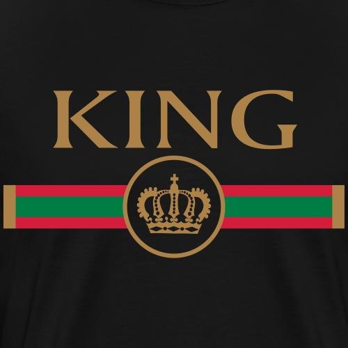 KING - Queen Partnerlook P70 A - Männer Premium T-Shirt