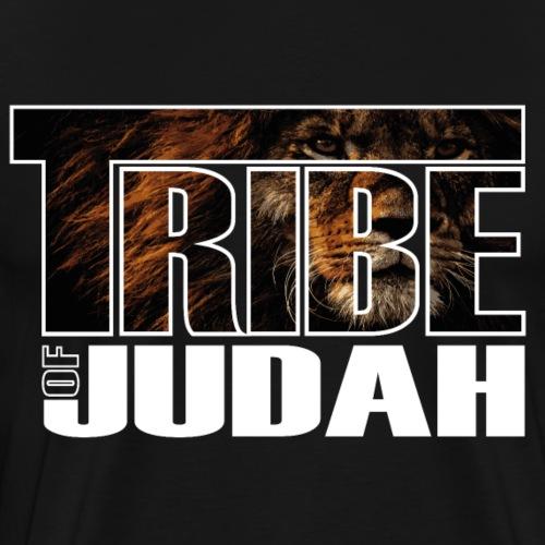 Sany O. Jesus Lion Tribe of Judah - Männer Premium T-Shirt