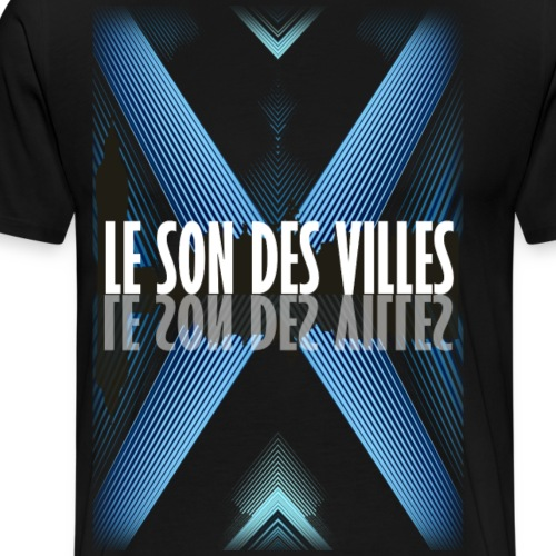 The Blue wall by Lesondesvilles - T-shirt Premium Homme