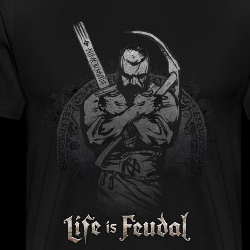 Life is Feudal Steam Badge 1 - T-shirt Premium Homme