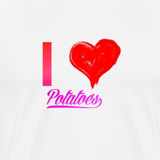 I Heart Potato T-Shirts
