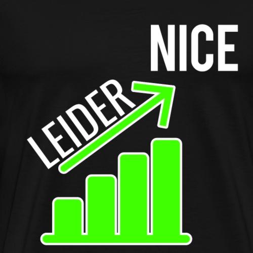 lustiger cooler spruch - Männer Premium T-Shirt