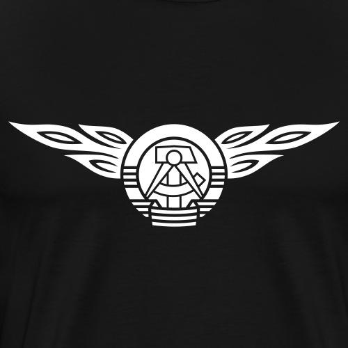 GDR flames crest 1c - Men's Premium T-Shirt