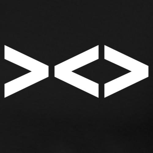 White Fish Bold - Men's Premium T-Shirt