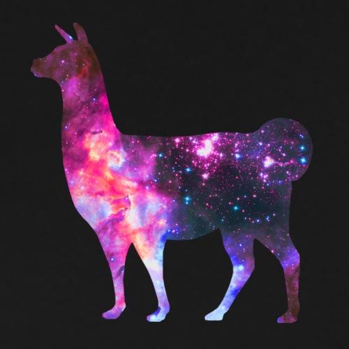 Space Llama - Herre premium T-shirt