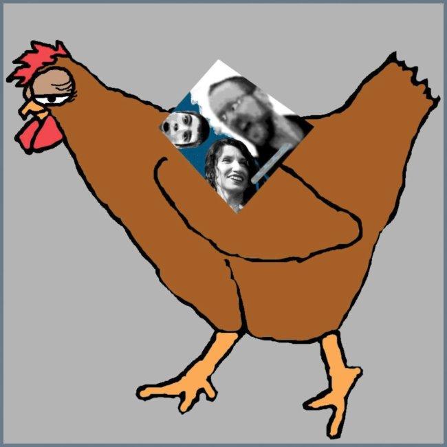 Triumvirate Chicken Logo