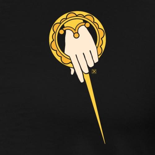 La mano del rey - Camiseta premium hombre