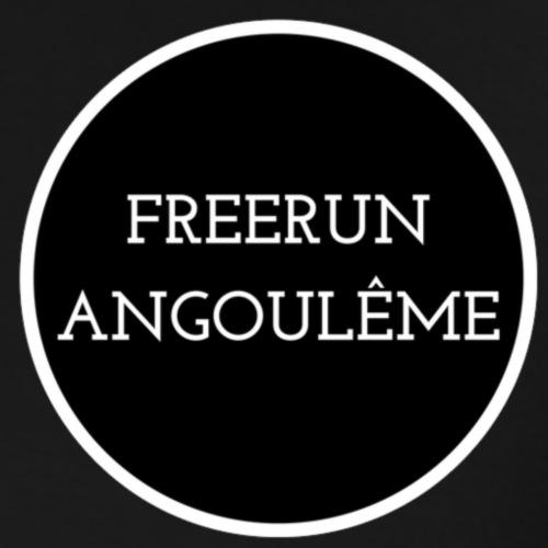 freerun noir logo - T-shirt Premium Homme