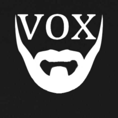 Logo Vox Bianco - Maglietta Premium da uomo