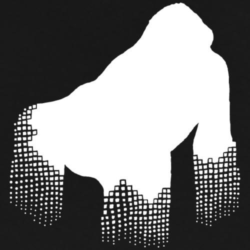 gorilla white - Männer Premium T-Shirt