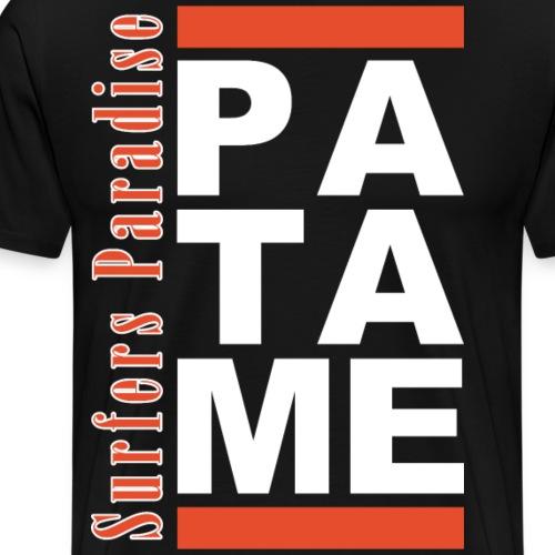 Patame Surfers Paradise White - Männer Premium T-Shirt