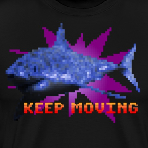 Keep Moving - Camiseta premium hombre