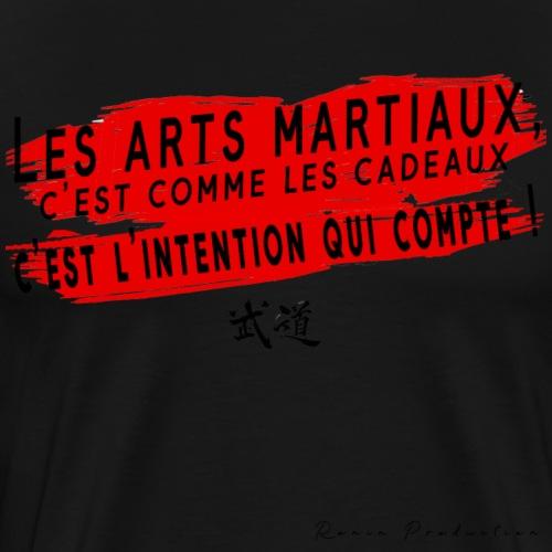 LES ARTS MARTIAUX c'est comme - T-shirt Premium Homme