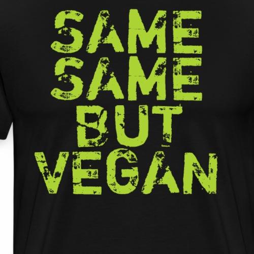 Same Same but Vegan Shirt Veganer T-Shirt Geschenk - Männer Premium T-Shirt