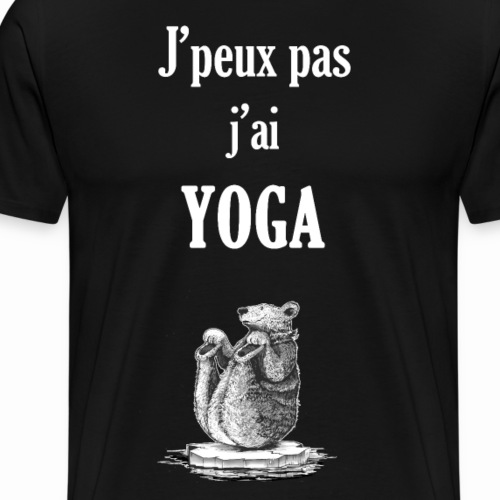 ours yogiste - T-shirt Premium Homme
