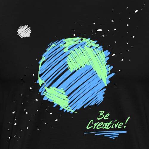 Be Creative! - Men's Premium T-Shirt