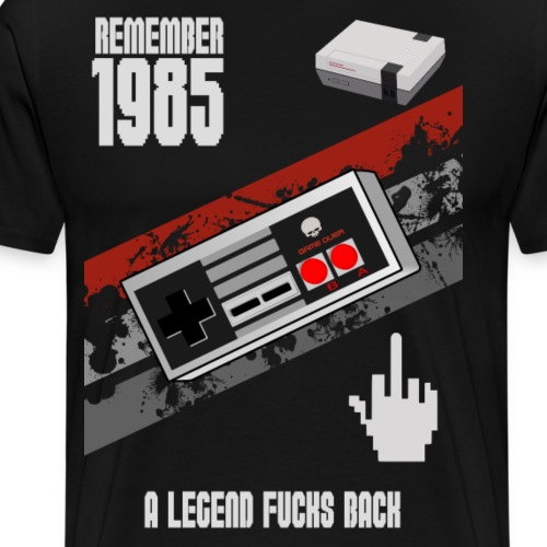 LEGEND OF 1985 - Männer Premium T-Shirt
