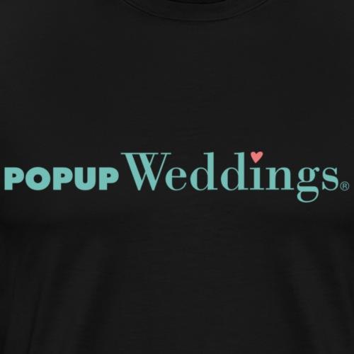 Popup Weddings - Men's Premium T-Shirt