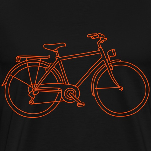 Bicicletta - Maglietta Premium da uomo
