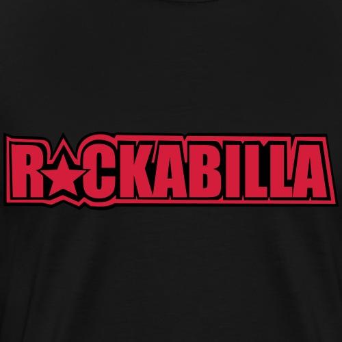 Basic Black & Red - Männer Premium T-Shirt