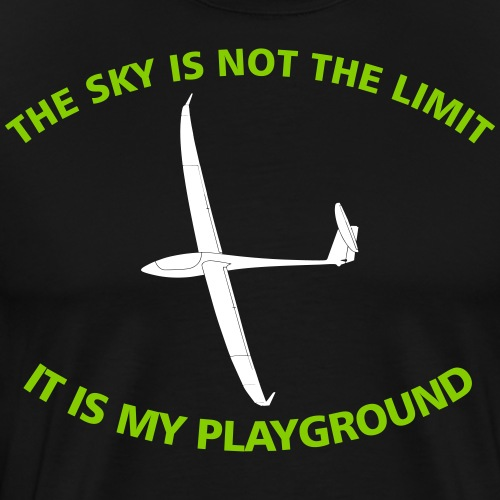 Segelflieger Pilot Geschenk - Männer Premium T-Shirt