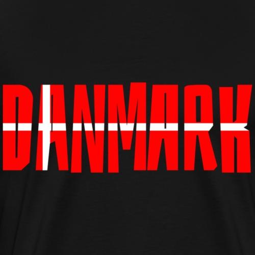 Danmark Dänemark - Männer Premium T-Shirt