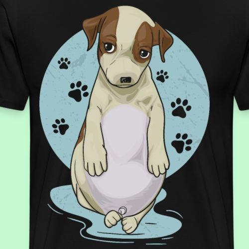 Perro panzón - Camiseta premium hombre
