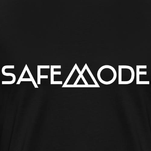 Safemode - Logo white - Men's Premium T-Shirt