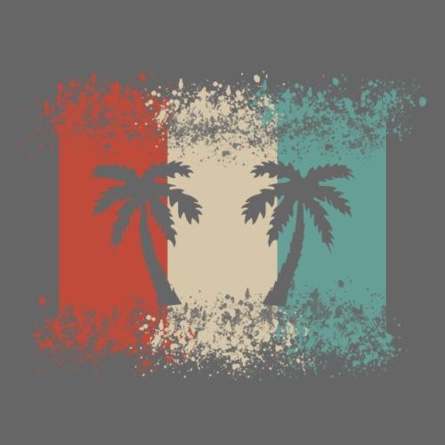 Palmen Hawaii T-Shirt, Surf, Surfer, Beach Strand